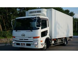 UDトラックス コンドル  冷凍冷蔵車 ワイドボデー パワーゲート ワイドボディ 6MT AAC 原動機GH5  アルミタンク100L LED車幅灯 ALCOAホイール HID