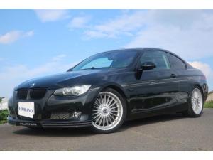 BMWアルピナ B3 ビターボ DOHCツインターボ370馬力 6速スィッチトロニック ブラックレザーシート HID HDDナビフルセグTVバックカメラ DSC 純正オプション19インチアルミ