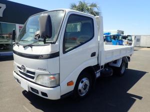 トヨタ ダイナトラック 09134 2t強化ダンプ 全低床 新明和製 150馬力