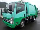 いすゞ/エルフトラック 09135 2.6tワイドパッカー車 プレス式6.7立米