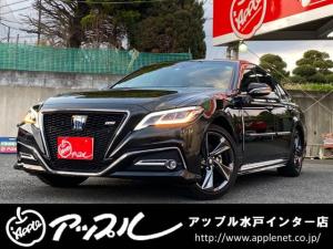 トヨタ クラウンハイブリッド RS リミテッド サンルーフ/BSM/合皮ハーフレザーシート/純正ナビ/フルセグTV/Bluetooth対応/TSS