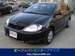 トヨタ カローラフィールダー X タイミングチェーン キーレス ABS エアロ