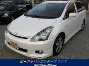 トヨタ ウィッシュ X タイミングチェーン HDDナビ HID ETC