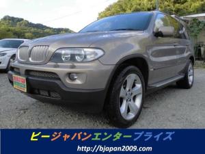 BMW X5 4.4i バックカメラ HID DVDナビ パワーシート