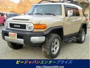 米国トヨタ FJクルーザー 左ハンドルナビ ETCタイミングチェーン パートタイム4WD