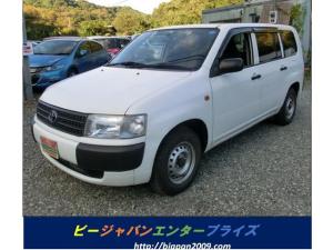 トヨタ プロボックスバン 4WD DXコンフォートパッケージ タイミングチェーンABS