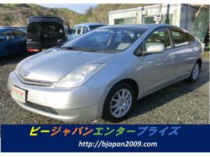 トヨタ プリウス S タイミングチェーン HDDナビ プッシュスター