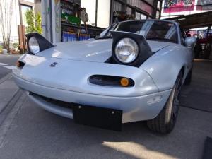 ユーノスロードスター 幌 レインレ-ル新品 TEIN車高調 外アルミ 外ハンドル
