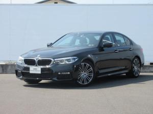 BMW 5シリーズ 523d Mスポーツ 元社有車 純正HDDナビ レザーACC