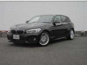 BMW 1シリーズ 118i Mスポーツ LEDヘッドライト 純正ETC 純正HDDナビ コンフォートアクセス クルーズコントロール ドライビングアシスト 社外バックカメラ シートヒータ 純正17インチ