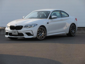 BMW M2 コンペティション ワンオーナー アダプティブLEDヘッドライト 純正HDDナビ コンフォートアクセス レザーシート シートヒーター ドライビングアシスト PDC バックカメラ クルーズコントロール  純正19インチ