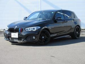 BMW 1シリーズ 118i Mスポーツ エディションシャドー 正規認定中古車 ワンオーナー 純正ETC 純正HDDナビ 前後PDC シートヒーター ACC バックカメラ コンフォートアクセス LEDヘッドライト ドライビングアシスト 純正18インチ