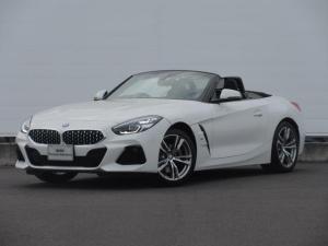 BMW Z4 sDrive20i Mスポーツ 正規認定中古車 元デモカー 純正HDDナビ LEDヘッドライト レザーシート シートヒーター ACC PDC バックカメラ コンフォートアクセス ワイヤレスチャージング 純正18インチ