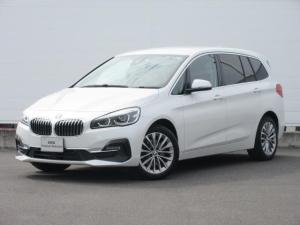 BMW 2シリーズ 218dグランツアラー ラグジュアリー ワンオーナー 純正HDDナビ 純正ETC レザーシート シートヒーター 電動シート コンフォートアクセス オートマチックテールゲート 前後PDC 純正17インチ