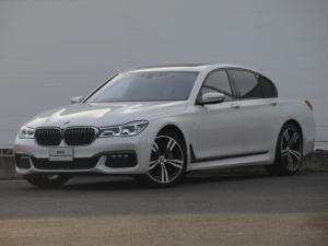 BMW 7シリーズ 740d xDrive Mスポーツ レーザーライト 純正HDDナビ モカレザー シートヒーター シートエアコン ソフトクローズドア ACC PDC バックカメラ ヘッドアップディスプレイ ハーマンカードン 純正20インチ サンルーフ