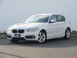 BMW 1シリーズ 118i スポーツ 正規認定中古車 LEDヘッドライト 純正ETC 純正HDDナビ クルーズコントロール 純正16インチ Bluetooth ドライビングアシスト パーキングアシスト
