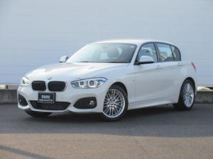 BMW 1シリーズ 118i Mスポーツ 正規認定中古車 純正HDDナビ 純正ETC クルーズコントロール バックカメラ シートヒーター ドライビングアシスト コンフォートアクセス パーキングアシスト 純正17インチ