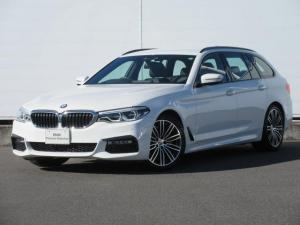 BMW 5シリーズ 523iツーリング Mスポーツ ハイラインパッケージ 正規認定中古車 弊社元社有車 アダプティブLEDヘッドライト 純正HDDナビ ACC ドライビングアシストプラス ヘッドアップディスプレイ オートマチックテールゲート 純正19インチ レザーシート