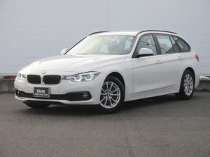 BMW 3シリーズ 318iツーリング 正規認定中古車 弊社元社有車 LEDヘッドライト 純正HDDナビ コンフォートアクセス PDC バックカメラ レーンチェンジウォーニング クルコン オートマチックテールゲート