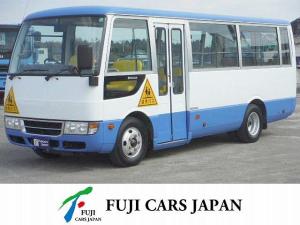 三菱ふそう ローザ 幼児車ターボ 三菱ローザ 園児バス乗車定員 大人3+幼児41 4.9D AT 型式PDG-BE63DE20年3月登録Nox・PM適合 こちらの車両は大型免許が必要です。