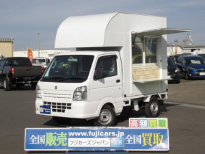 スズキ キャリイトラック 移動販売車 キッチンカー フードトラック 自立用ジャッキ付