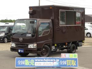 マツダ タイタンダッシュ 移動販売車 キッチンカー AT 販売窓 換気扇 2槽シンク