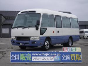 トヨタ コースター LXターボ 乗車定員26人手動グライドドア 4.0D 5MT 型式PDG-XZB40