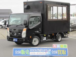 日産 アトラストラック 移動販売車 キッチンカー 移動カフェ 新規製作 新規設備