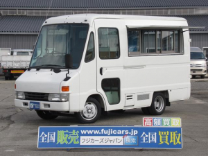 トヨタ クイックデリバリー 移動販売車 キッチンカー 冷蔵庫 換気扇 排気ガス適合車
