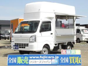 スズキ キャリイトラック 移動販売車 キッチンカー 移動カフェ シンク インバーター
