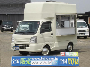 スズキ キャリイトラック 移動販売車 キッチンカー 移動カフェ 軽貨物登録 4WD