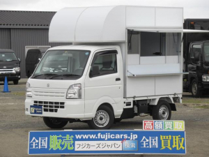 スズキ キャリイトラック 移動販売車 キッチンカー キッチンBOX未使用 軽4ナンバー