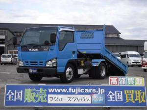 いすゞ エルフトラック 強化ダンプ ローダーダンプ積載2t4.8D 5F花見台 5速スムーサー