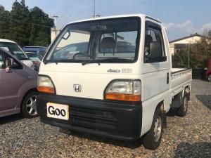 ホンダ アクティトラック  エアコン 5速マニュアル ホワイト 軽トラ 軽自動車