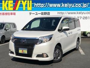 トヨタ エスクァイア GiSDナビ黒革シート両側電動ドアフルセグTVドラレコLED