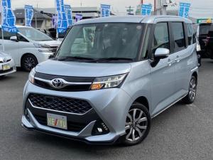 トヨタ タンク カスタムG-T衝突軽減1オーナーターボ全方位カメラナビ両電動