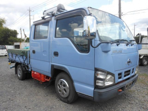 日産 アトラストラック ブルー 5速マニュアル エアコン パワステ パワーウィンドウ