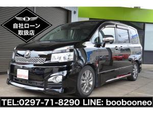 トヨタ ヴォクシー ZS 煌II HDDナビ・TV・両側パワースライドドア・革調シートカバー・スマートキー