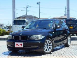 BMW 1シリーズ 120i 前席パワーシート 純正オーディオ 純正アルミ HIDヘッドライト フォグランプ