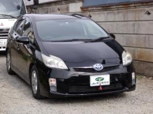 トヨタ プリウス L メモリーナビ ワンセグTV DVD Bluetooth ETC車載器 革調シートカバー スマートキー2個付