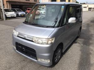ダイハツ タント カスタムX シルバー CD 軽自動車 ベンチシート