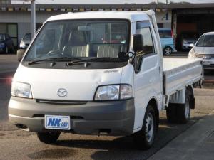 マツダ ボンゴトラック DX 5MT スチールデッキ 集中ドアロック 最大積載量1000kg ダブルタイヤ ラジオ付 3名定員