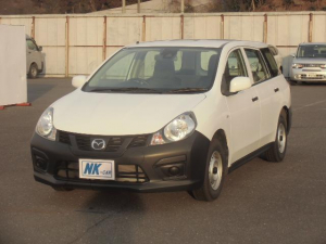 マツダ ファミリアバン VE エマージェンシーブレーキ 社外ナビ バックカメラ ETC 横滑り防止 Bluetooth接続 レンタカーアップ車