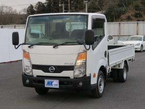 日産 アトラストラック スーパーローDX 5MT キーレス EHS(坂道発進補助装置) フォグランプ AMFMラジオ 木製デッキ ドアバイザー 最大積載量1500kg