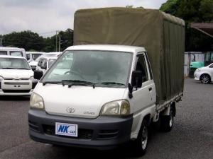 トヨタ ライトエーストラック  DX 幌付平ボディ 5MT ABS装備 パワーウィンドウ ドアバイザー 最大積載量1000kg