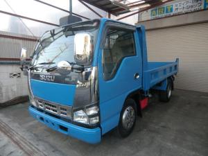 いすゞ エルフトラック フルフラットローダンプ 2トン