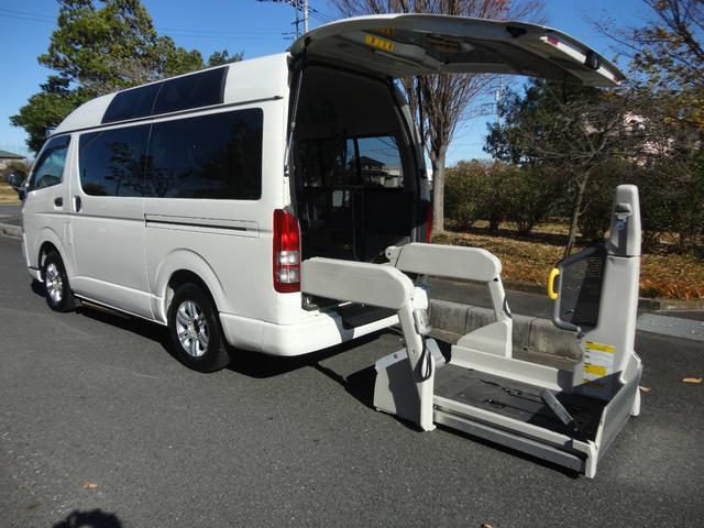 福祉車両車椅子2台・Bタイプロング