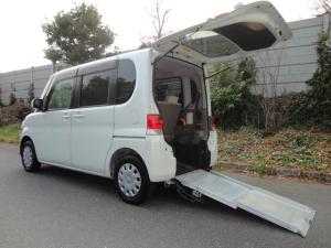 ダイハツ タント  軽自動車 スローパー 福祉車両 車椅子一台 左パワースライドドアー
