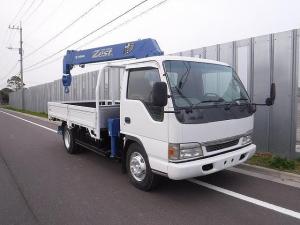日産 アトラストラック  積載3.5t ワイドロング 5段ラジコンクレーン付き リヤジャッキ