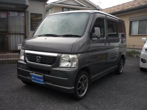 ホンダ バモス Lターボ 4WD 社外Mナビ